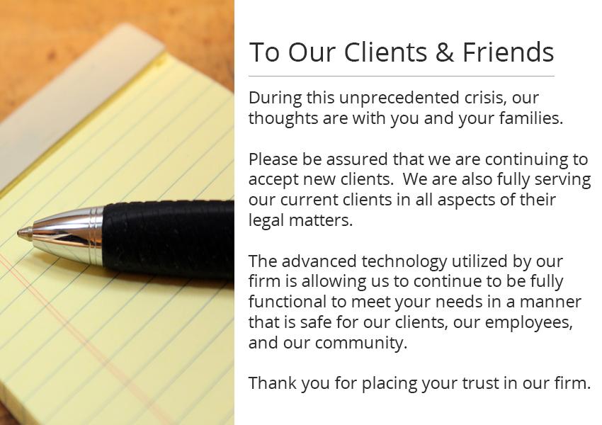 COVID-19 Client Message